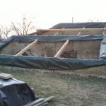 Protection des vieux murs en terre crue