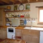 Réalisation d'une cuisine simple dans l'esprit de la maison