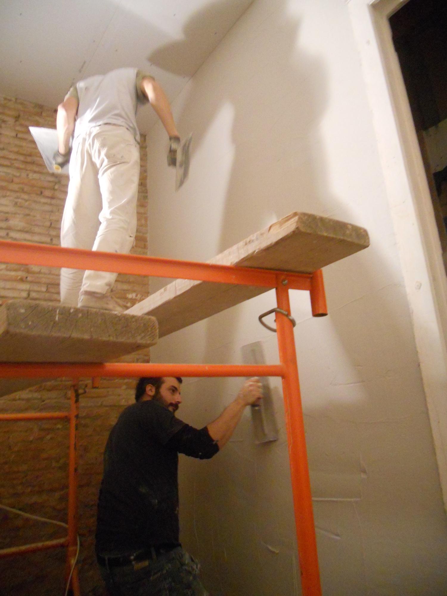 nature habitat scop mur fini par un enduit au pl tre traditionnel. Black Bedroom Furniture Sets. Home Design Ideas