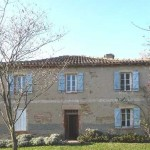Maison traditionnelle des coteaux du Tarn