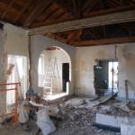 Grosse démolition intérieure