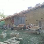 Reconstruction avec matériaux recupérés