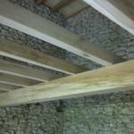 Structure plancher neuve en chêne