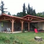 Remplacement ferme existante et création terrasse