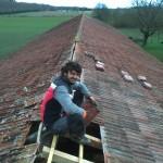 Restauration partielle de la toiture