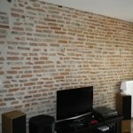 Restauration mur en foraines