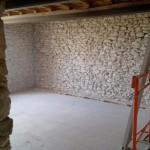 Décroutage enduit intérieur au ciment